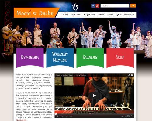 Strona www dla Mocni w Duchu