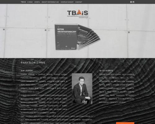 Strona www tbais.pl