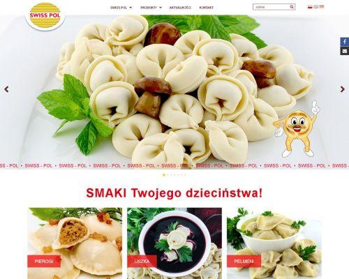 Strona www dla producenta mrożonek
