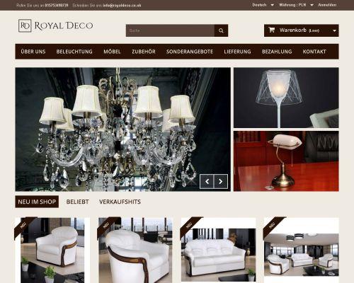Sklep internetowy Royal Deco