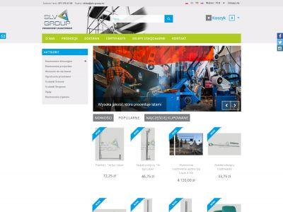 Sklep internetowy dla firmy Slv Group