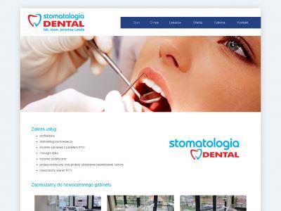 Strona www dla gabinetu Dental