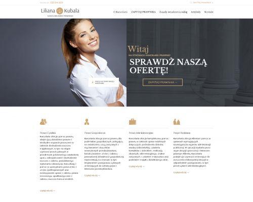 Strona www dla Kancelarii Radcy Prawnego