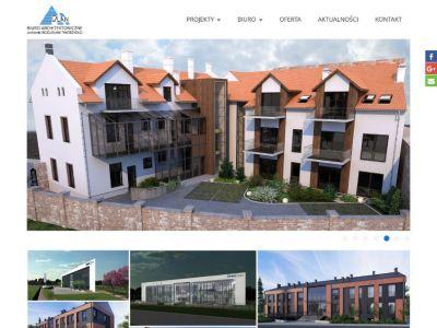 Strona www dla biura architektonicznego