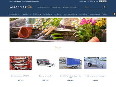 Sklep internetowy z branży dom i ogród